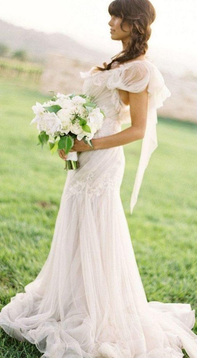 white summer wedding dressesimage