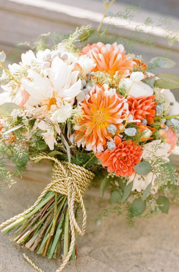 wildflower wedding bouquet ideas