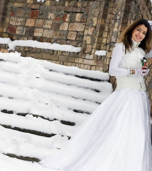 winter mermaid wedding dresses