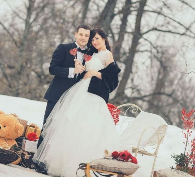 winter wedding dresses plus size image
