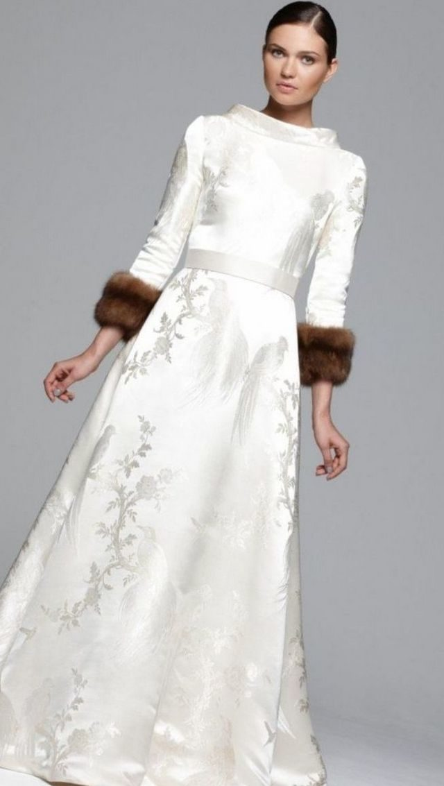 winter wonderland wedding dress