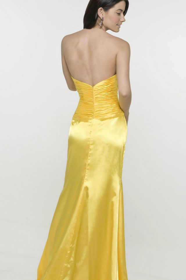 yellow wedding dresses image