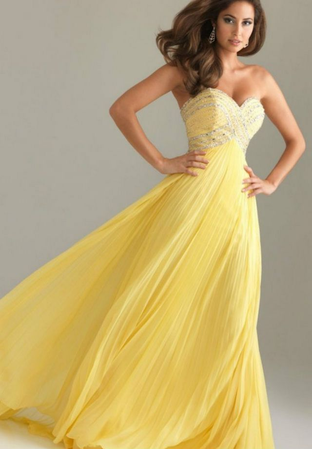 Wedding dresses yellow free wedding dresses for Yellow wedding dresses for sale